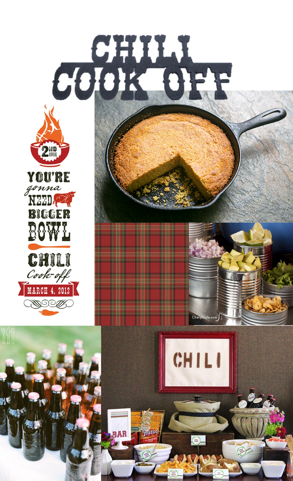 chili cook off, chili cook off party inspiration, fall party ideas, chili bar #chilibar