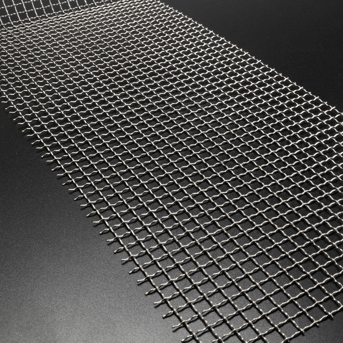 15x60cm Woven Wire Stainless Steel 304 Cloth Screen 4 Mesh ...