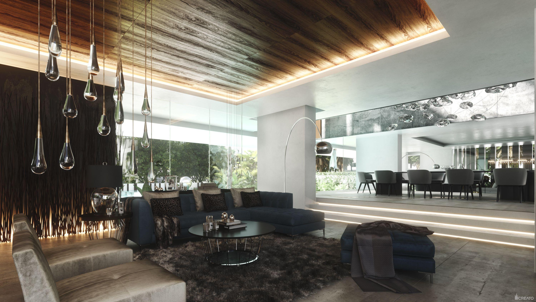 DOHA VILLA, QATAR Living room #architecture #design
