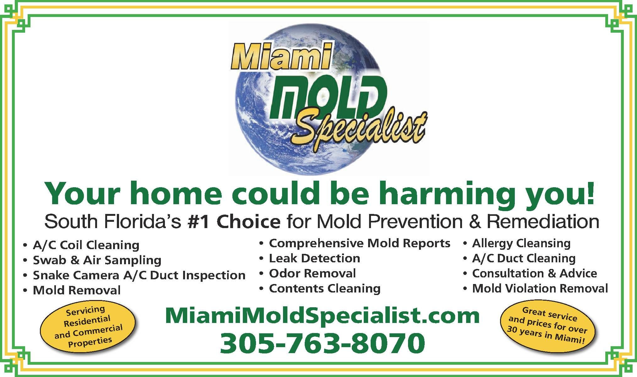 The mission of the Miami Mold Specialist is to provide