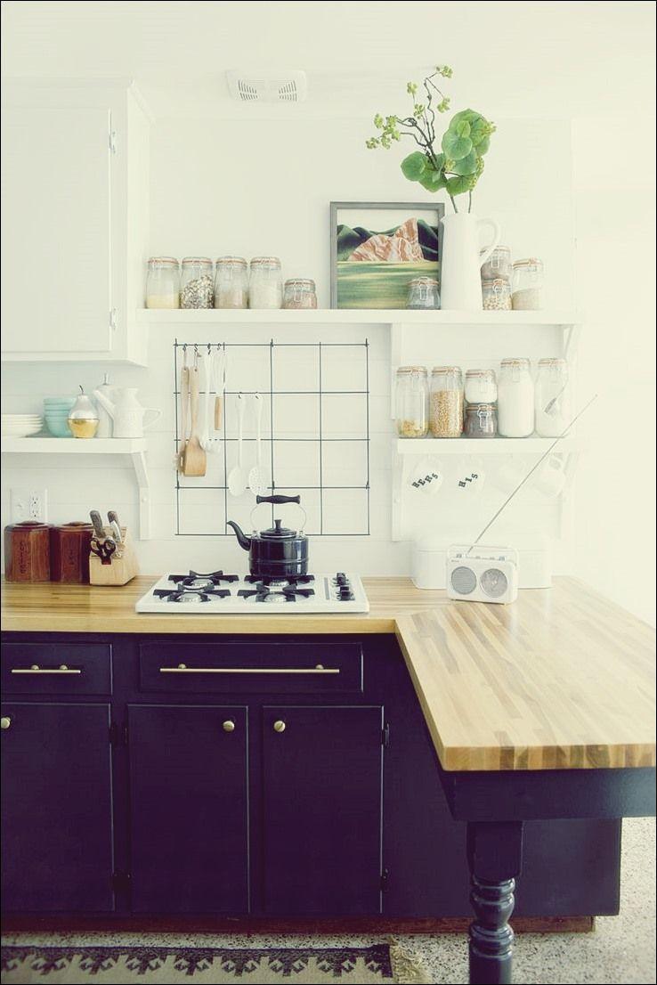 Halfsies in Ihrer Küche mit zweifarbigen Schränken  Küchen design