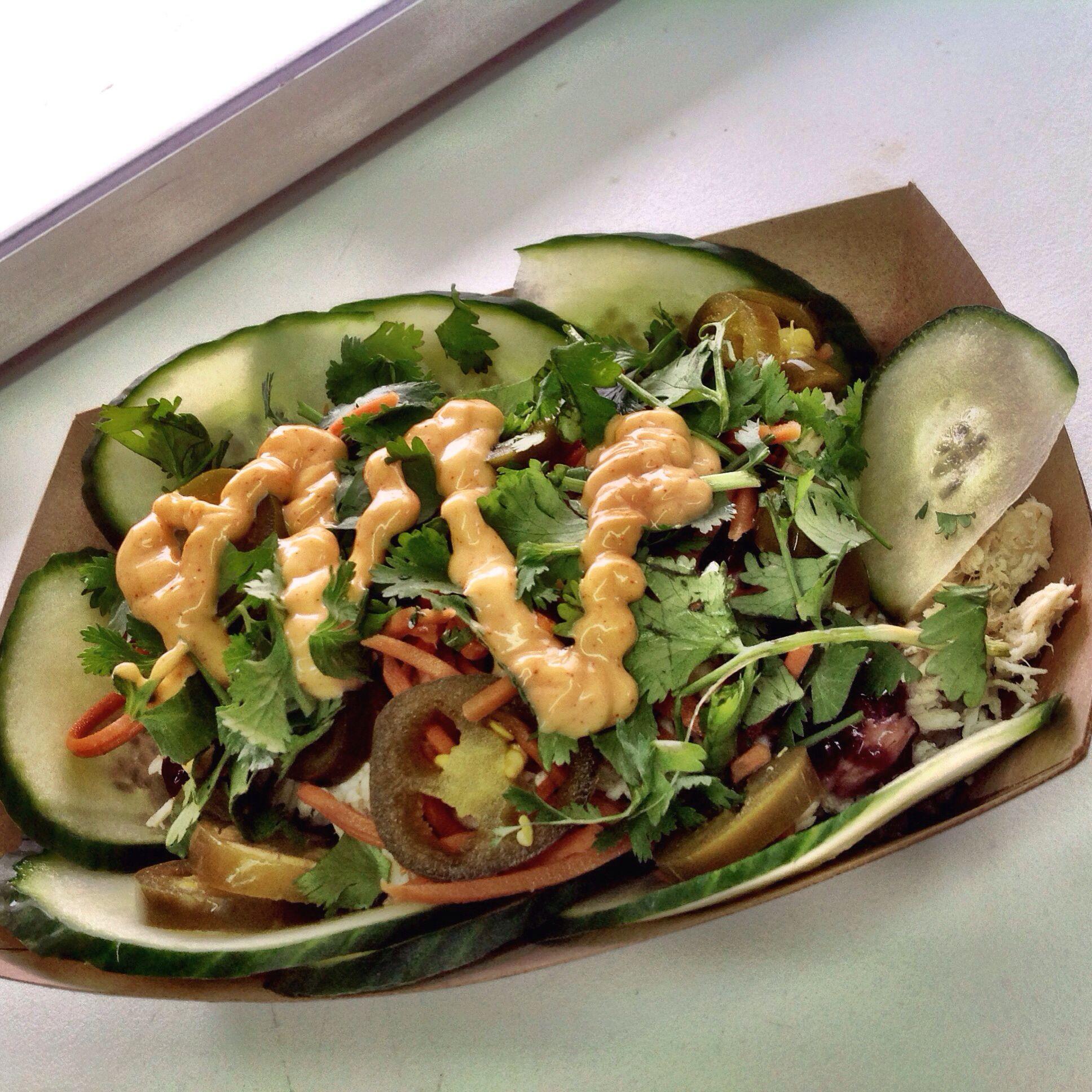 Banh mi salad gluten free food food truck
