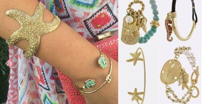 Nautical Layering Bracelets