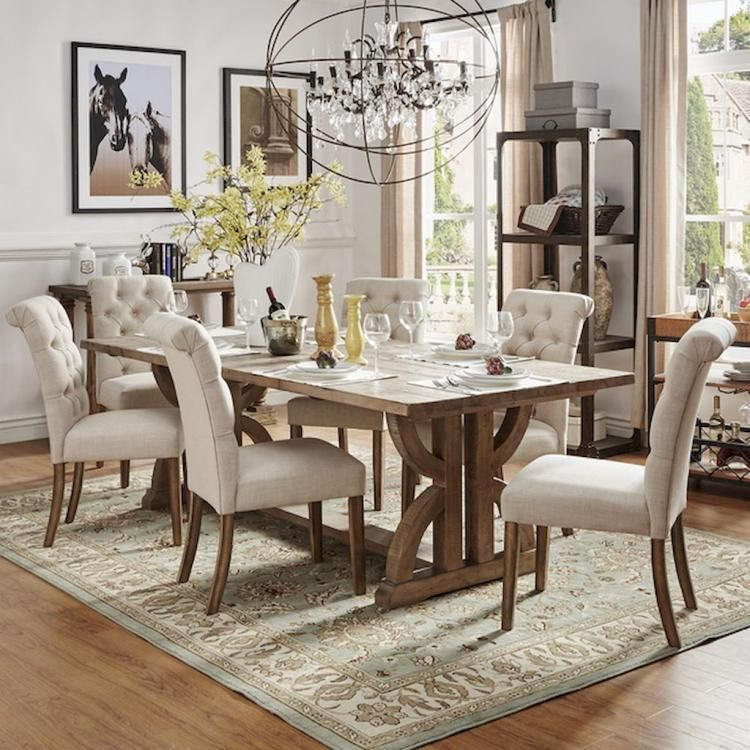 75+ Extraordinary Farmhouse Dining Room Design Ideas