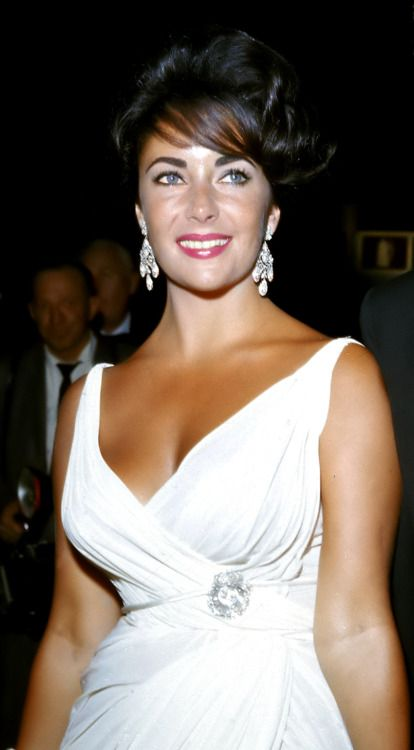 Elizabeth Taylor...Dame Liz will always be the most beautiful woman I've ever seen. What a life!