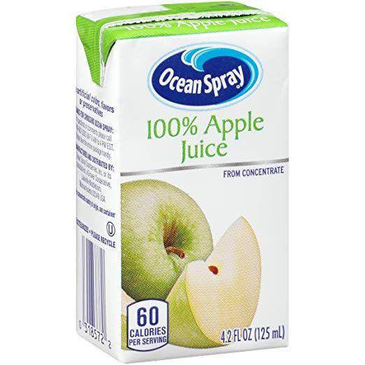 Ocean Spray 100 Orange Juice, 4.2 Ounce