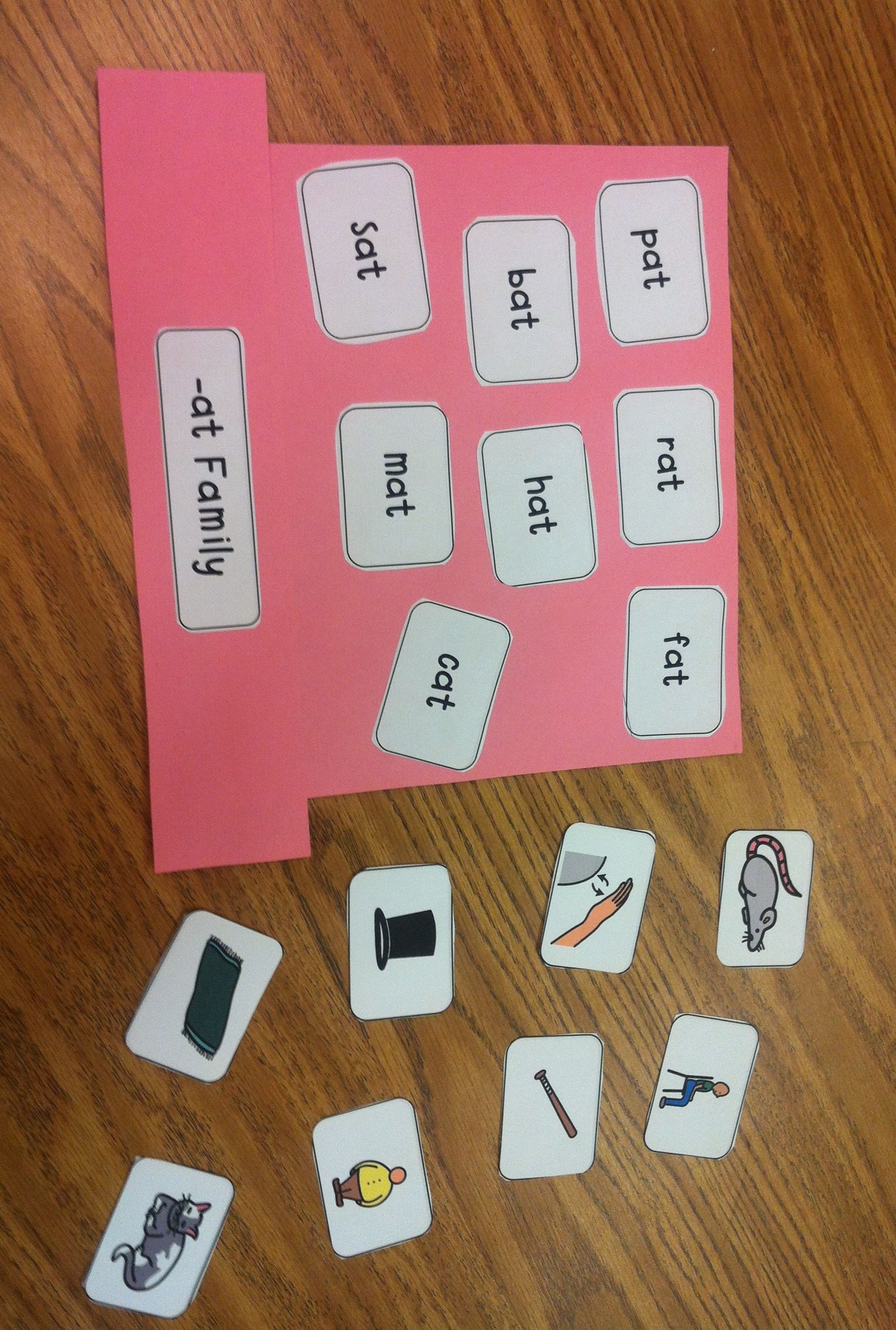Word Families While Making These Word Families It Is Also Practicing Other Skills For Young