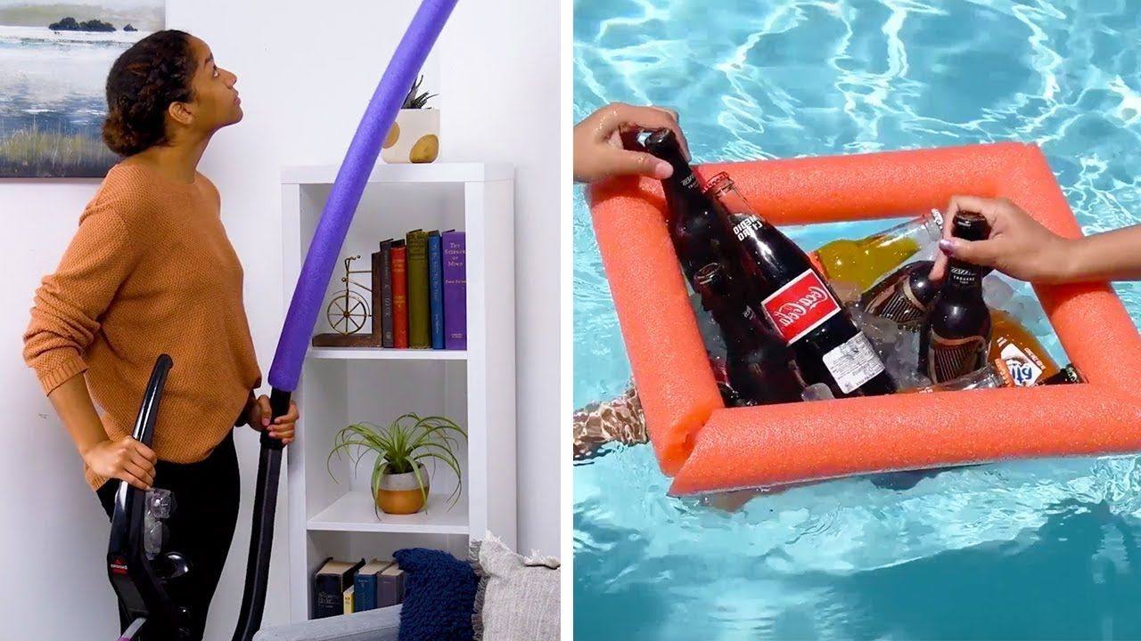 Use Your Noodle With These 10 Clever Pool Noodle Hacks Diy Crafts