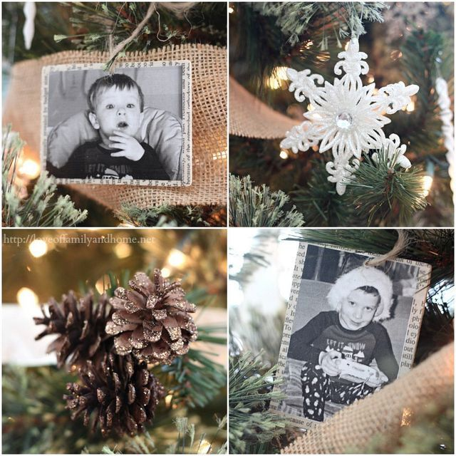 Neutral, Rustic, Glam Christmas Tree (Love of Family  Home