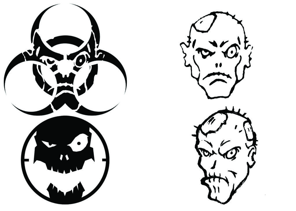 Spike's Tactical Forums • View topic New Zombie Logo