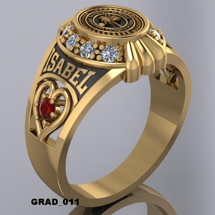 Anillos anillos de graduacion