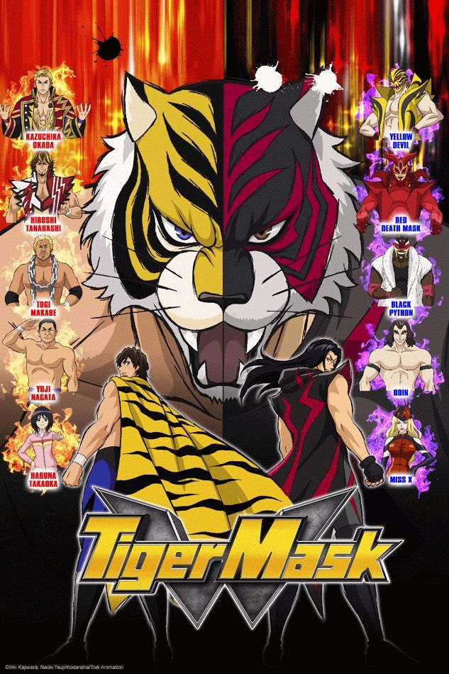 crunchyroll adds tiger mask w to fall simulcast catalog anime herald tiger mask anime anime smile