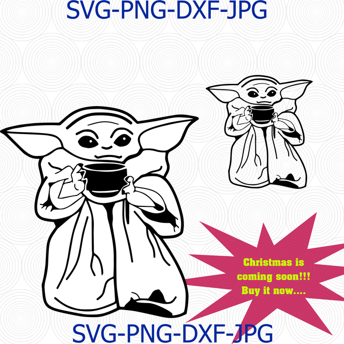 Baby Yoda Svg Images