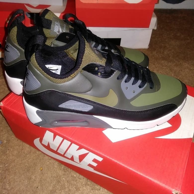 Nike Air Max 90 Ultra Mid Winter Sequoia