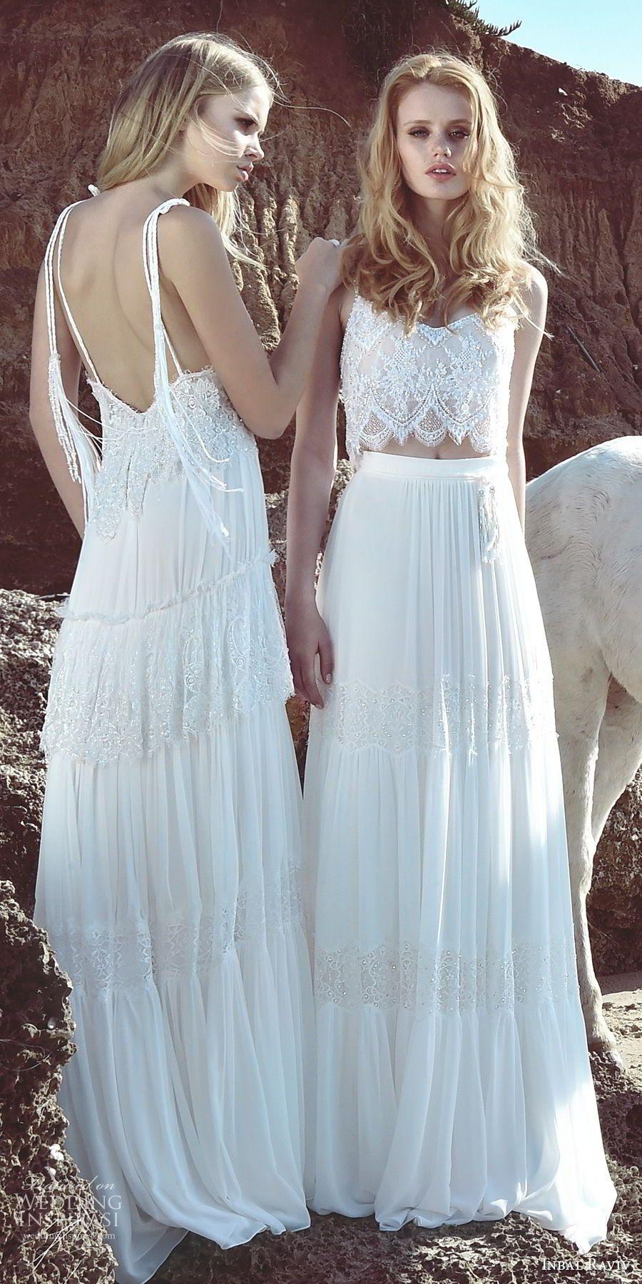 Inbal Raviv 2017 Wedding Dresses   Bodice, Neckline and Wedding dress