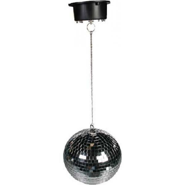 Bola de espejos para colgar con luz led 20 cm al mejor for Espejos para colgar