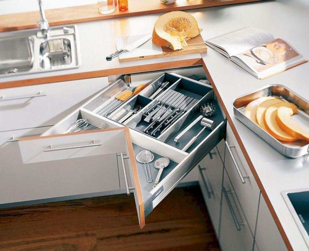 50 Best Kitchen Cabinets Ideas And Designs For Save Space Space Saving Kitchen Kitchen Space Savers Kitchen Design