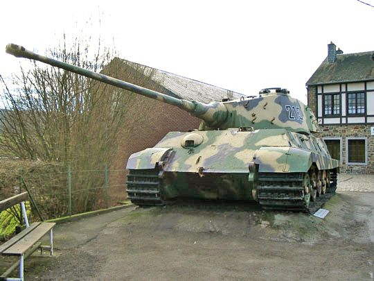 Tiger II at La Gleize