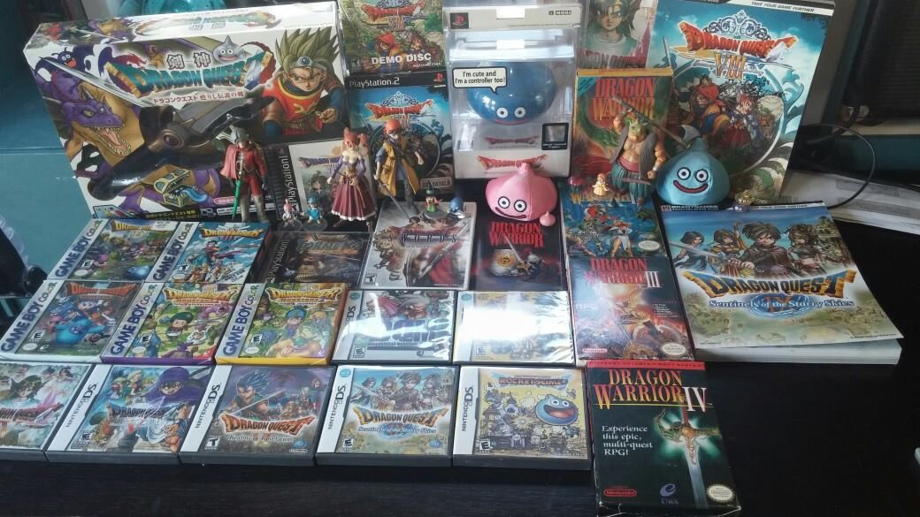 alex sanchez s dragon quest collection dragon quest pinterest