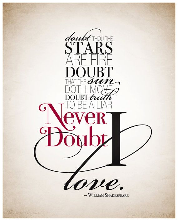 "Tattoo Ideas & Inspiration - Quotes & Sayings | ""Doubt ..."