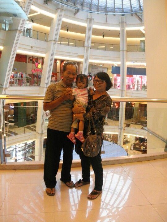 Parents n their granchild