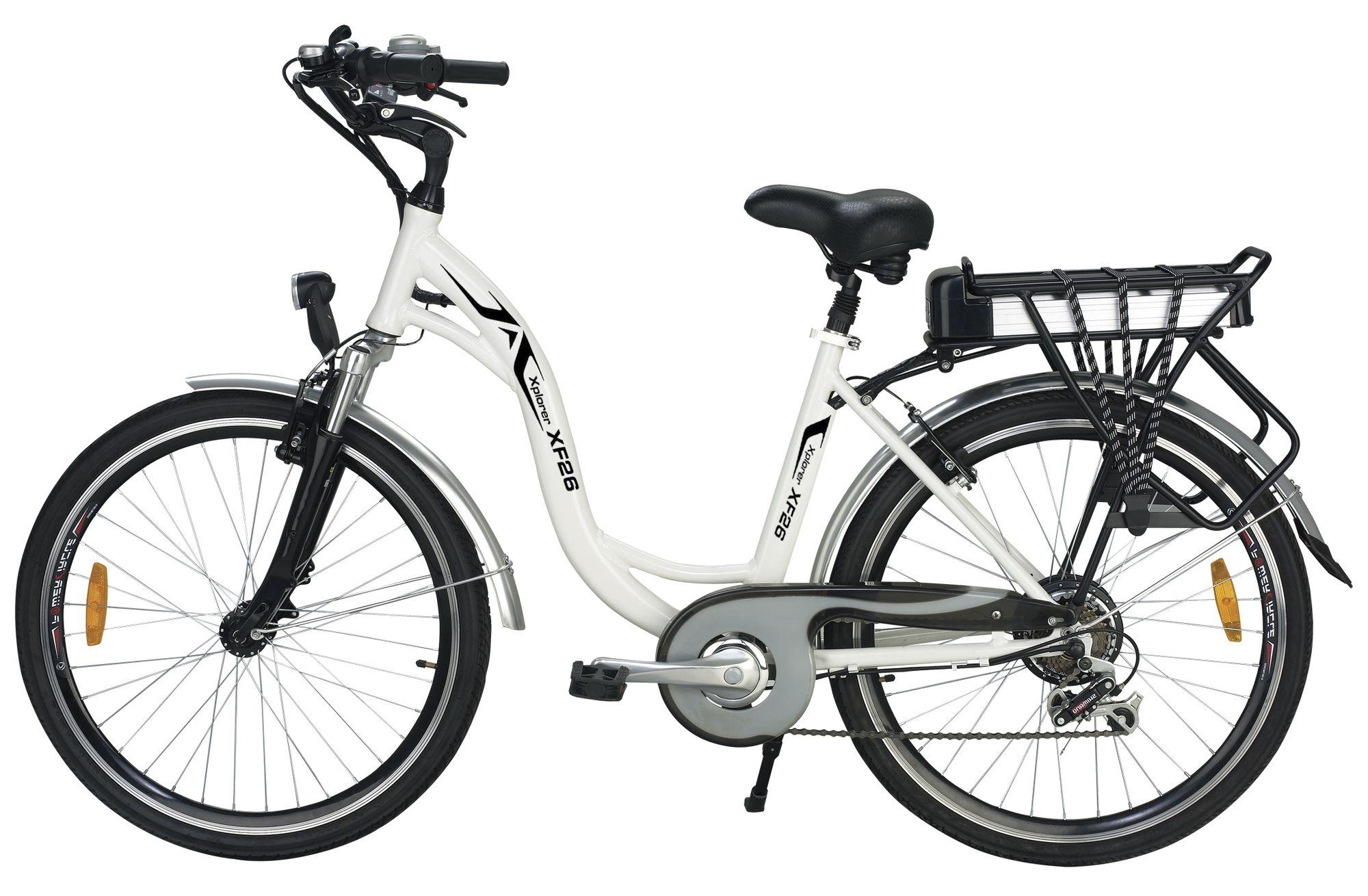 Xplorer 7 Speed Lithium Power Electric Bike 26 Sold At Walmart