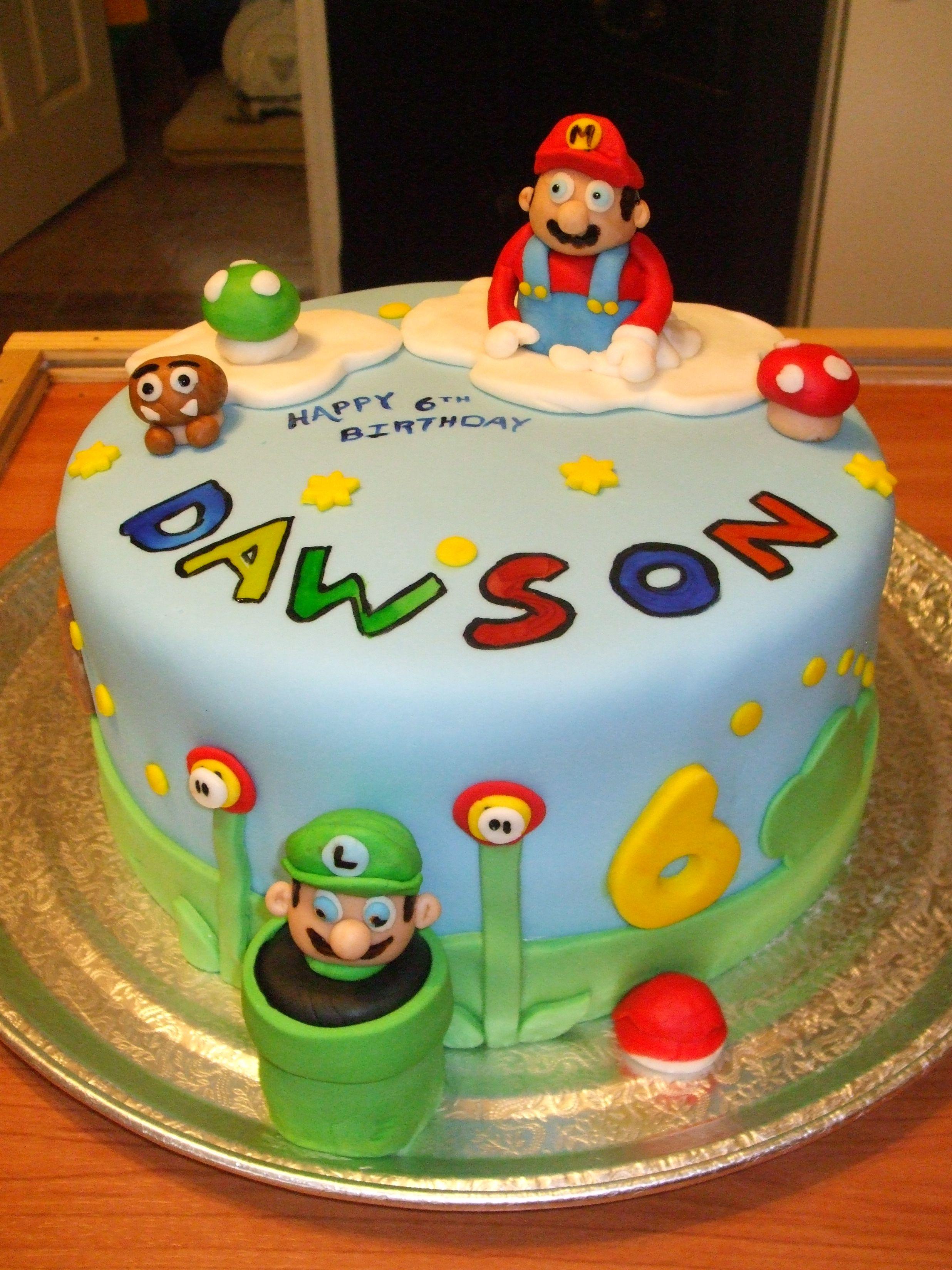 my grandson Dawson loves Mario!!
