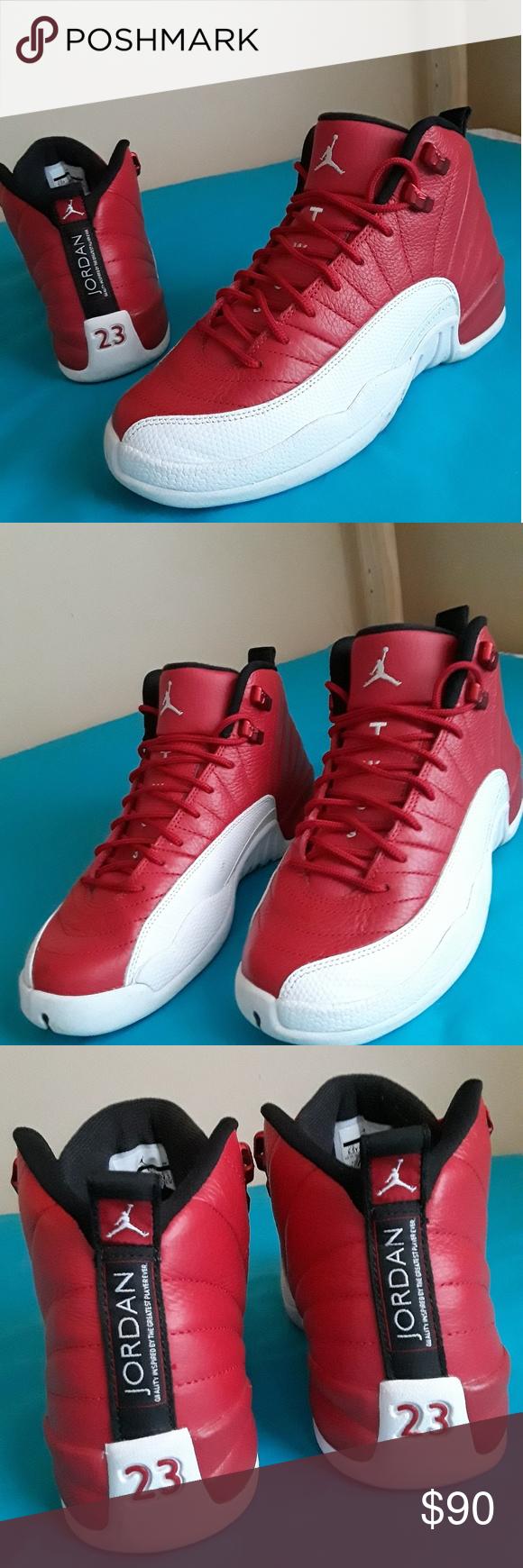 Nike Air Jordan 12 Retro Gym Red Wht