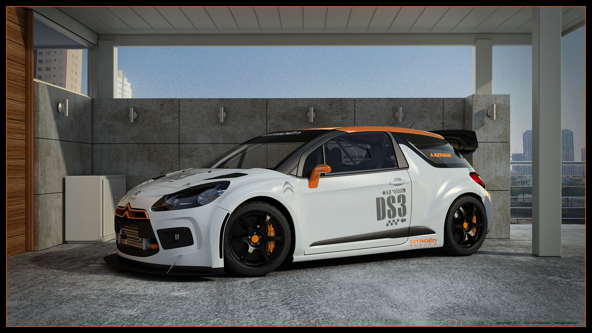 citroen ds3 racing carport by on deviantart cars pinterest. Black Bedroom Furniture Sets. Home Design Ideas