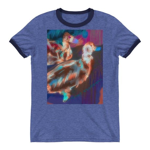 Art t shirt / 2 Ducks T-shirt / Vacation Clothing / Shirts / Beach T-shirt / Aesthetic clothing / Aesthetic shirt #beachvacationclothes