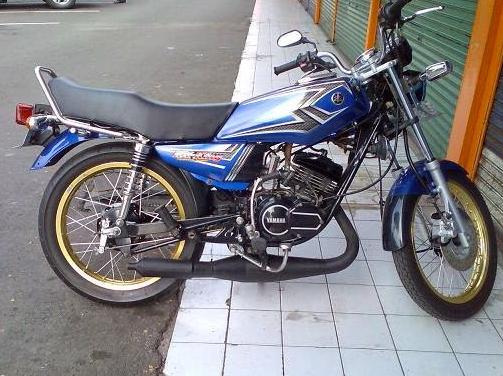 Modifikasi Yamaha Rx King Cobra Simple King Cobra Dan Desain