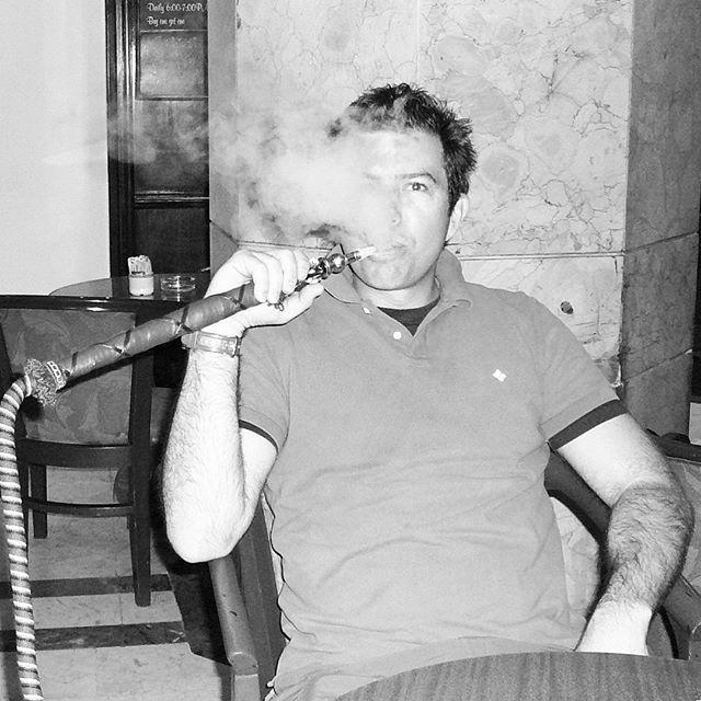 Smoking Sheesha in Cairo #banjarans #traveller #cairo #egypt #funtimes