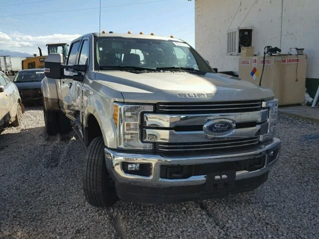 Salvage 2017 Ford F350 Super Duty Pickup For Sale Salvage Title