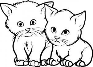 How To Draw Baby Kittens Baby Kittens Step 9 In 2020 Cartoon Cat Drawing Baby Drawing Cartoon Drawings Of Animals