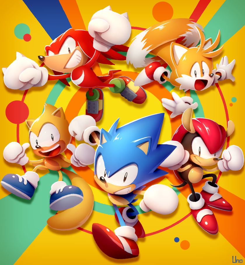 ウノユウジ On Twitter Sonic The Hedgehog Sonic Sonic Knuckles