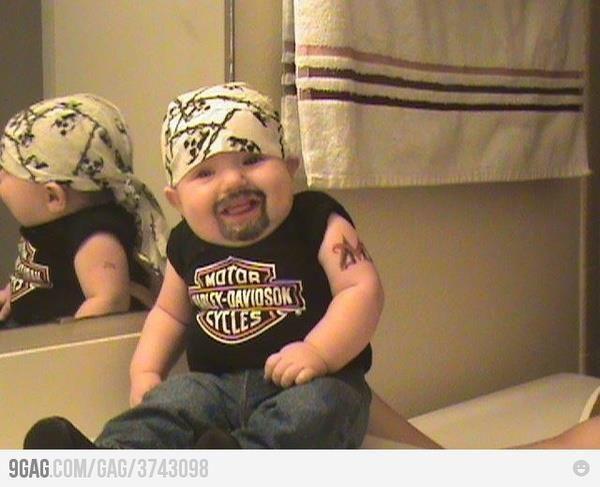 Baby Harley Dude