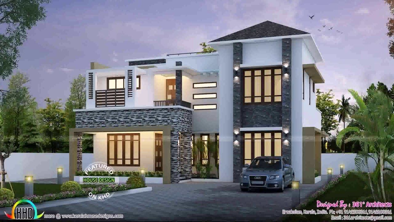 Pin By Schandell Allen On Dream House Kerala House Design Modern Contemporary Homes Luxury House Plans