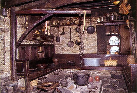 Cocina medieval para inspirarse decoracion pinterest for Decoracion casa siglo xix