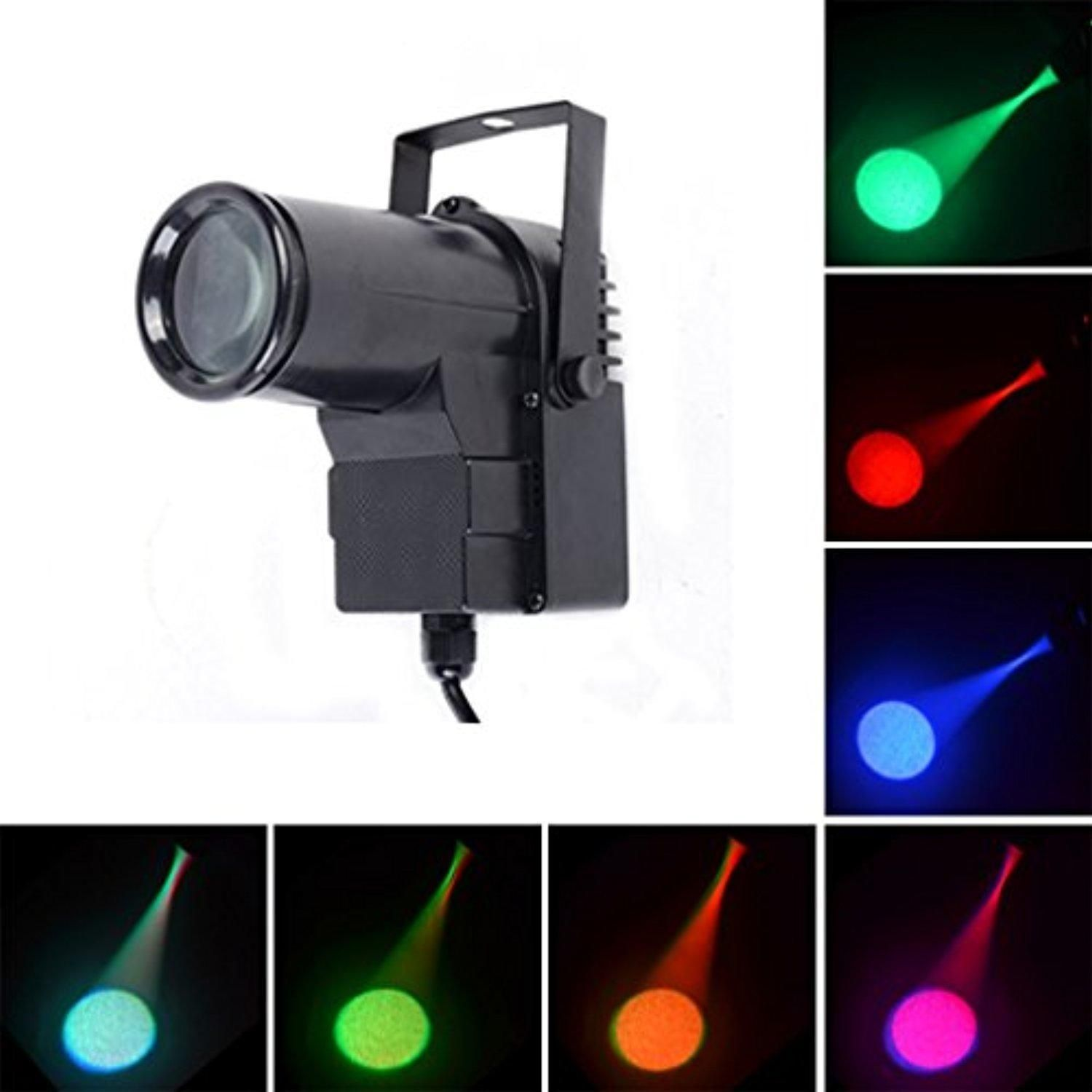 Mini 10w Rgbw 4 In 1 Dmx512 Music Led Beam Lights Lamp Strong Spotlights Party Home Bar Wall Ktv Dj Stage Lighting Stage Lighting Commercial Lighting Wall Bar