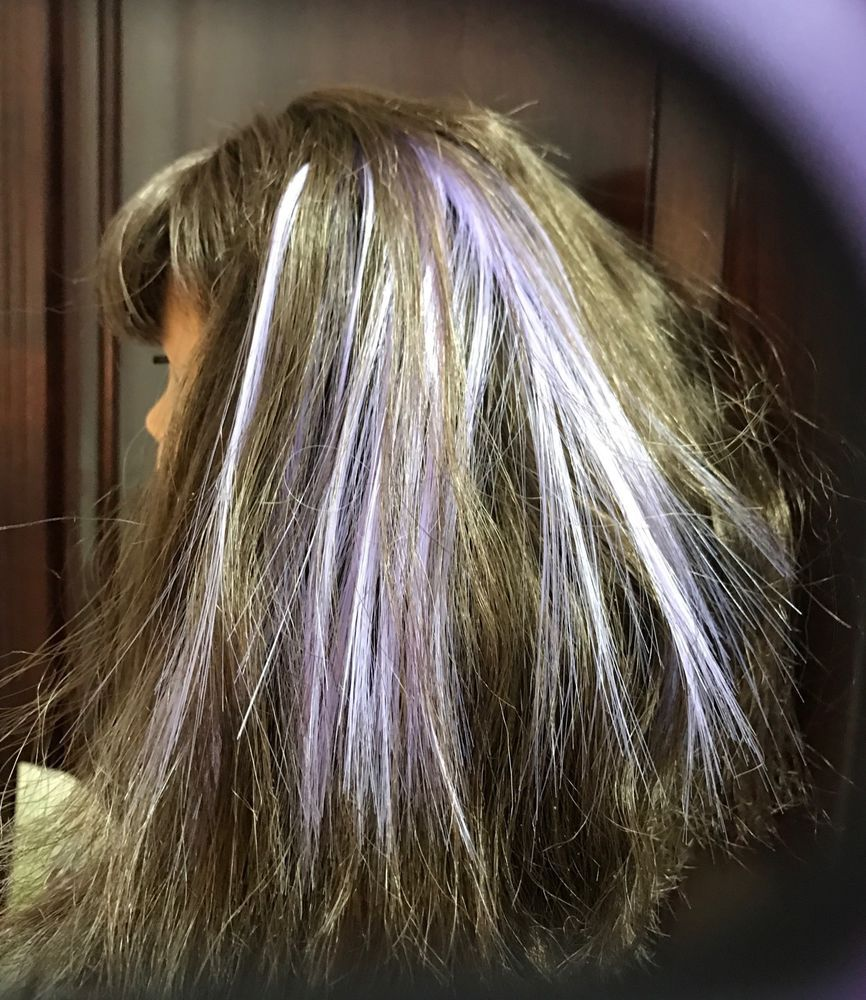 "American  Girl Doll Hair Highlights Add On ""Lavender""    eBay"