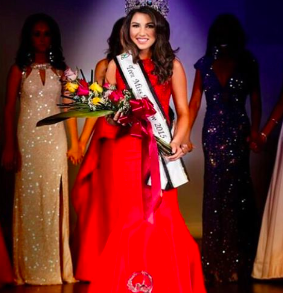 Sherri Hill pageant gown. Red pageant gown. Red evening gown. Red ...