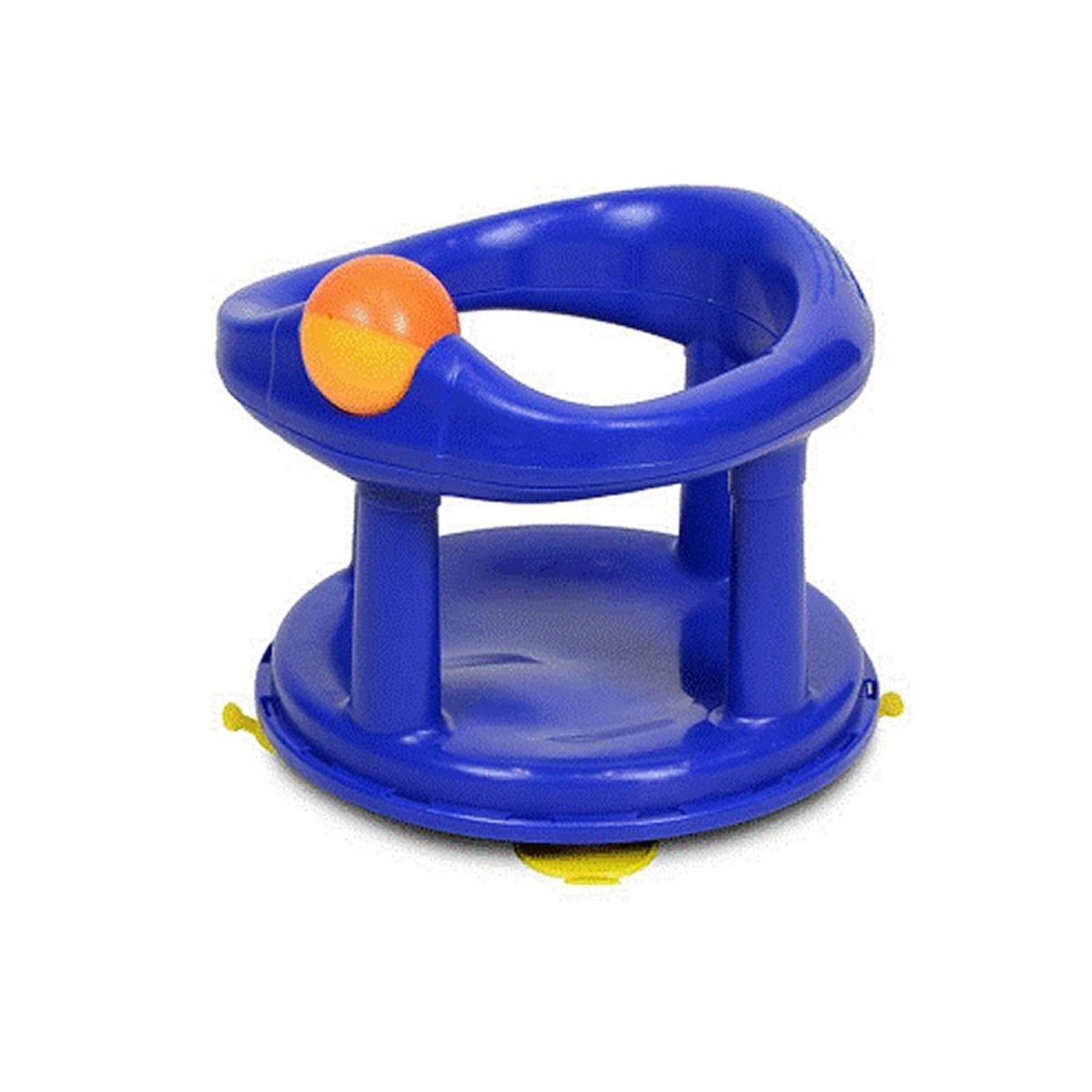 Safety 1St Swivel Blue Baby Bath Seat (Primary) | Baby bath seat ...