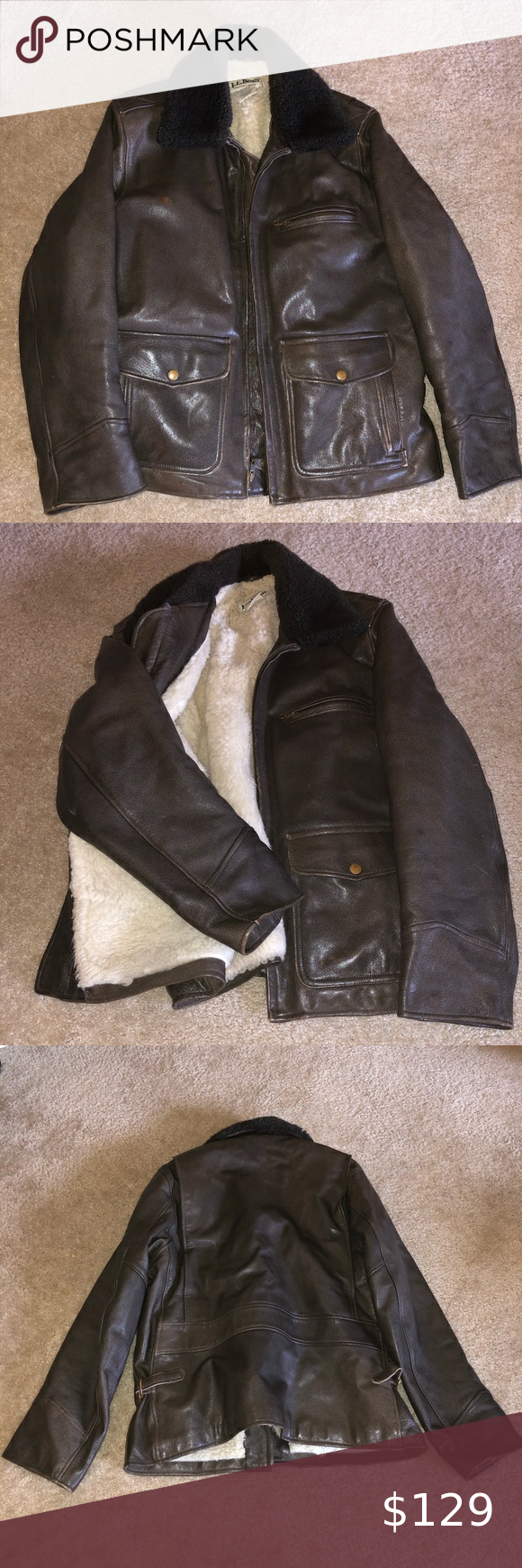 Ll Bean Leather Bomber Jacket Leather Bomber Jacket Leather Bomber Clothes Design