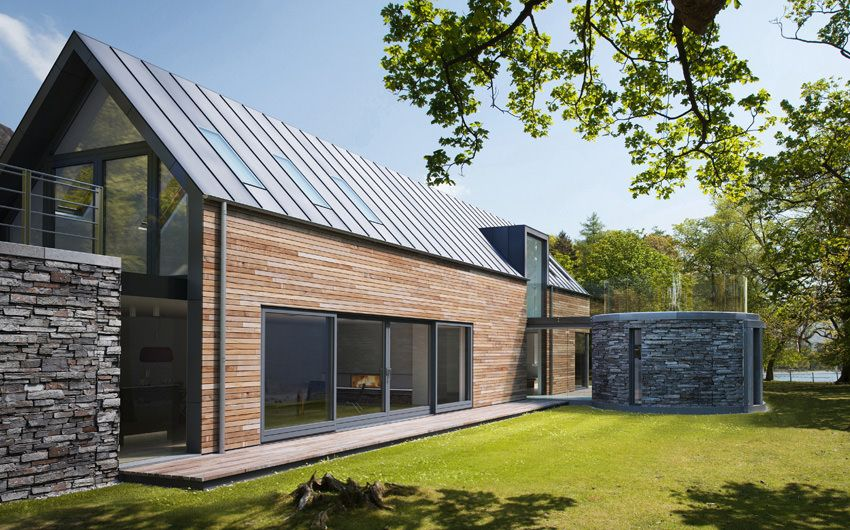 Nz House A Residential Architecture Pitched Pinterest