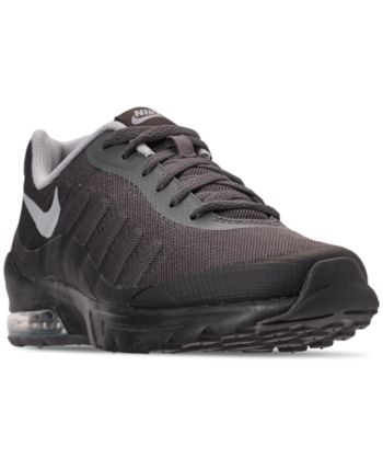 low priced 1b4af 3fbdc Nike Men s Air Max Invigor Print Running Sneakers from Finish Line - Black  11.5