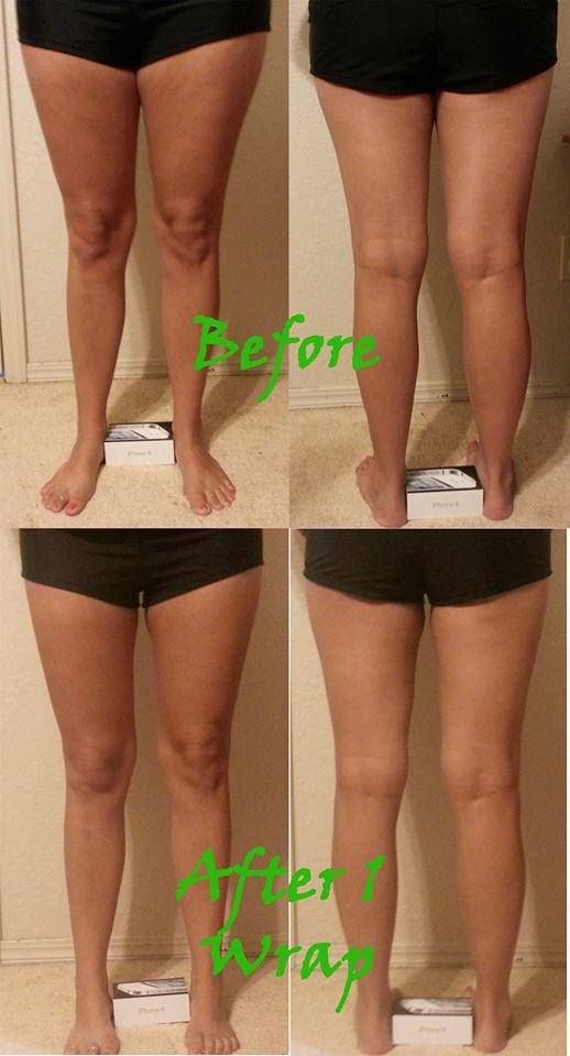 I LOVE It Works!  Body applicators.  It took the cellulite and stretch marks off the inside of my thighs with the first two wraps....haven't done the others yet to tone them up more!   www.haywardwraps.com