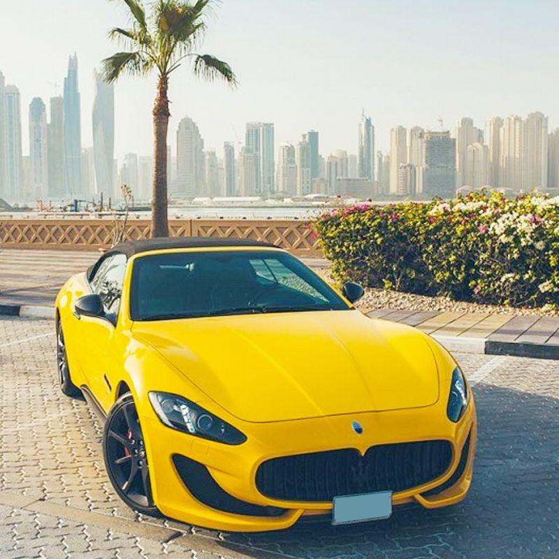 Drive the Maserati GranCabrio for AED 1600 / day in Dubai