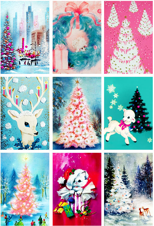 Vintage Christmas Cards From The 50s And 60s Part 1 Vintage Christmas Cards Retro Christmas Decorations Christmas Art