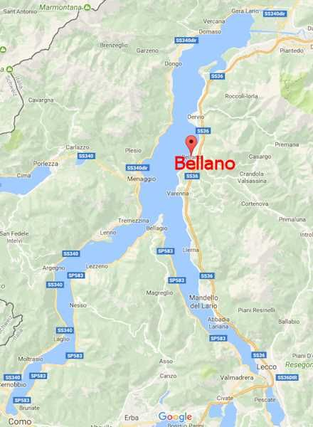 Bellano Am Comer See Comer See See Reisen