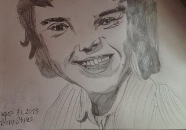 What a great Harry Styles drawing